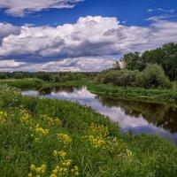 Облака над Клязьмой 2 :: Андрей Дворников