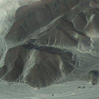 ПЕРУ линии НАСКА приветик инопланетянина рисунок на горе :: Svetlana Plasentsiia