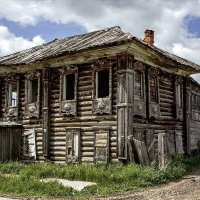 Деревня Прохоровка, родина Григория Распутина :: Борис Соловьев