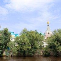 На берегу р. Омь :: раиса Орловская