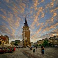 Башня краковской ратуши :: Александр Бойко