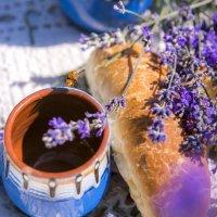 завтрак в лаванде...еще то испытание! :: Мария Корнилова