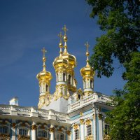 Царское Село, дворцовая церковь екатерининского дворца :: Юлия Фалей