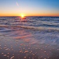 Закат в Белом море :: Владимир Кочнев