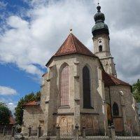 Приходская церковь Св. Иакова, Бургхаузен, Бавария... :: Galina Dzubina