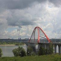 Новосибирск, мост через реку Обь :: Николай