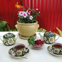 Чай с малиной и мятой... :: Тамара (st.tamara)