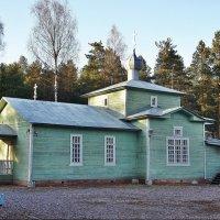Церковь Иоанна Кронштадтского в Вырице. :: Елена Павлова (Смолова)
