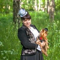Дама с собачкой. :: Александр Лейкум