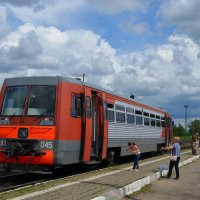 На станции Западная Двина... :: Владимир Павлов