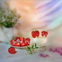 Клубника с молоком II :: Наталия Лыкова