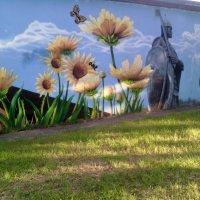 Граффити в Подмосковном городе Дзержинский. :: Ольга Кривых