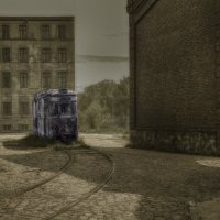 Старый трамвай... :: Olga