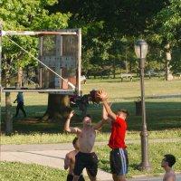 Баскетбол в парке. Ч. 2 :: Олег Чемоданов