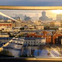 Московские крыши,отражения :: Наталия