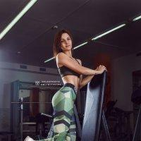 Спортсменочка... :: Дмитрий Велесъ