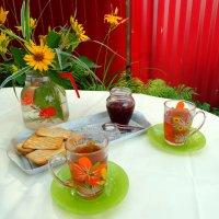 Утренний чай с клубничным вареньем... :: Тамара (st.tamara)