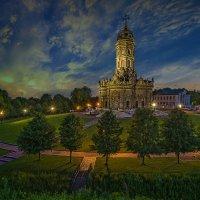 Церковь Иконы Божией Матери Знамение в Дубровицах :: Борис Гольдберг