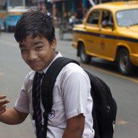 Индийский школьник... :: Александр Бычков