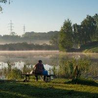 Ранним утром в парке. :: Владимир Безбородов