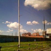 И смотрю на счастливые облака из автобуса! :: Ольга Кривых