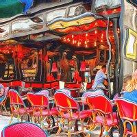 Парижское кафе .... :: Сергей Козырев