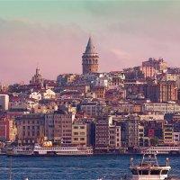 Стамбульский пейзаж с Галатской башней :: Ирина Лепнёва