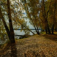 Берег озера :: vladimir