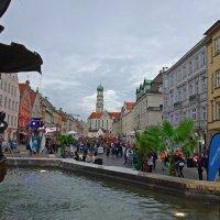 Праздник  лета в городе  Аугсбург... :: Galina Dzubina