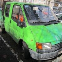 Зелёный грузовик :: Дмитрий Никитин