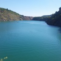 Голубое озеро :: Людмила Трушникова
