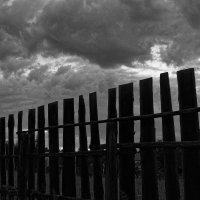 Забор :: Евгений Карский