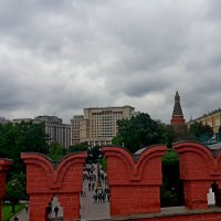 У стен Кремля. :: Tata Wolf
