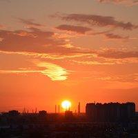 и пламенел закат .... :: Валентина Папилова
