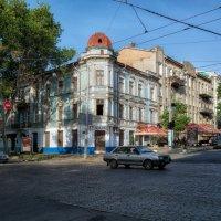 Просыпающийся город, - утро на Пушкинской. :: Вахтанг Хантадзе