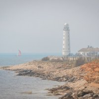 Севастопольский маяк, Херсонес :: Алексей Яковлев