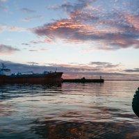 Закат в порту :: Андрей Липов