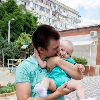 Малыш и крестный :: Анастасия Ларкина