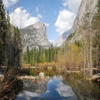 Зеркальное озеро :: viton