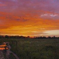 Пылающее небо :: Николай Танаев