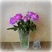 Розовые розы :: Nina Yudicheva
