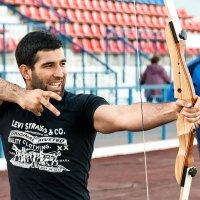 На соревнованиях лучников :: Анастасия Богатова