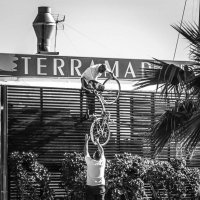 бесплатная парковка велосипеда :: sergio tachini