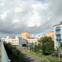 Мост и Люберцы. :: Ольга Кривых