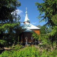 Монастырское кладбище, Николо-Арсениевский кладбищенский храм :: veera (veerra)