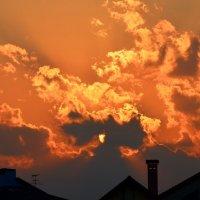 Небесный пожар заката :: Ольга Русанова (olg-rusanowa2010)