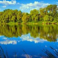 Отражаясь в воде.. :: Юрий Стародубцев