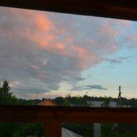 Вид на закат из окна :: Павел Trump