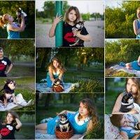Настя и Бантик :: Elena Vershinina