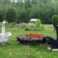 АЗС по дороге в Финляндию :: Вера